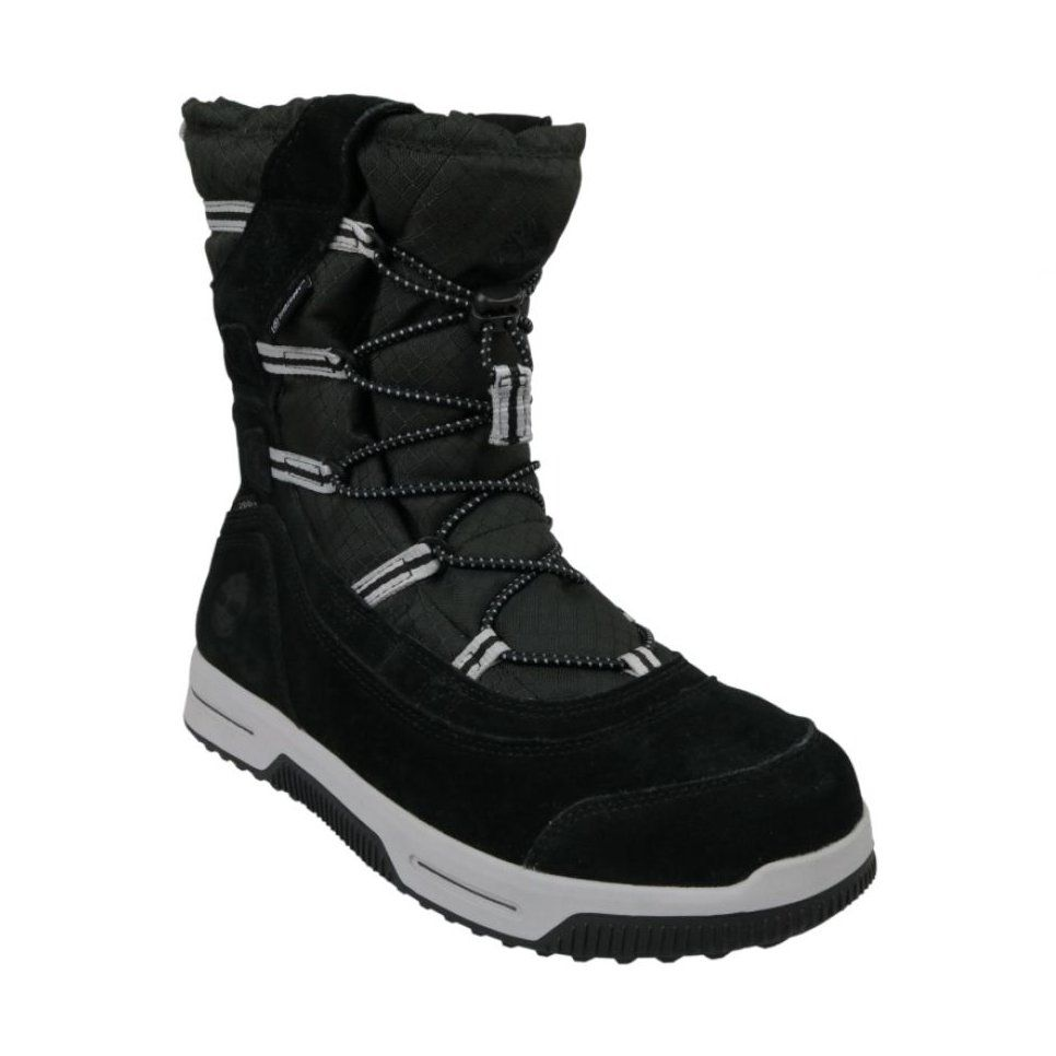 Buty Zimowe Timberland Snow Stomper Pull On Wp Jr A1uik Czarne Winter Shoes Black Snow Boots Kid Shoes
