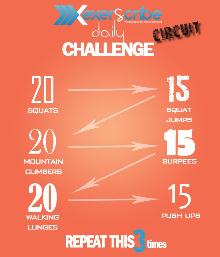 Exerscribe Daily Challenge Biohacking Fitness