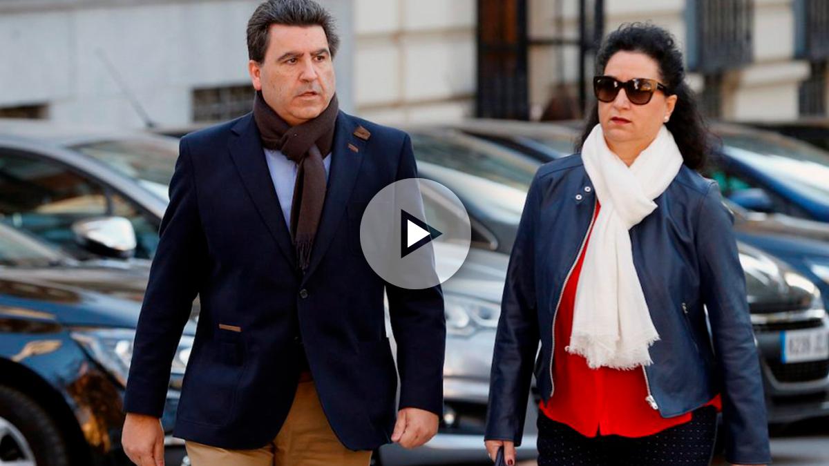 La secretaria de Marjaliza reconoce que su marido guardia civil fue enviado a hacer pagos a Suiza