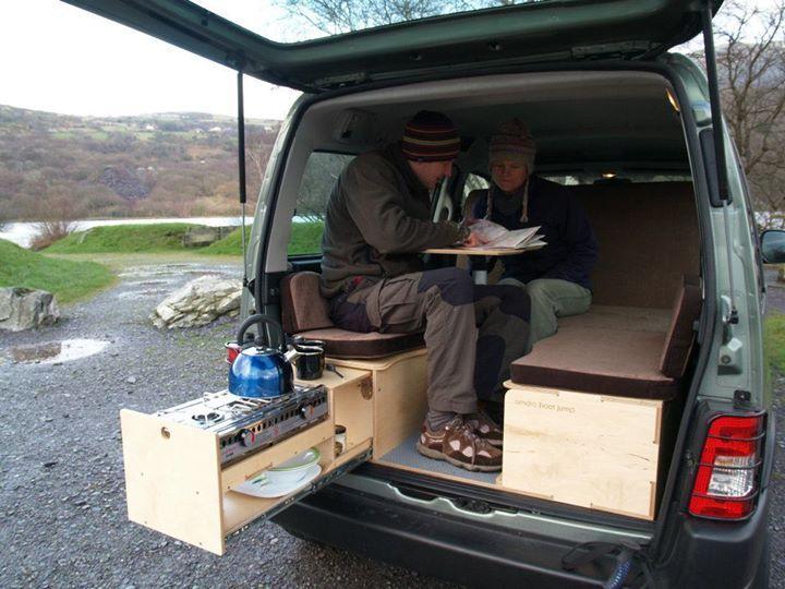 Minivan Camping On Pinterest