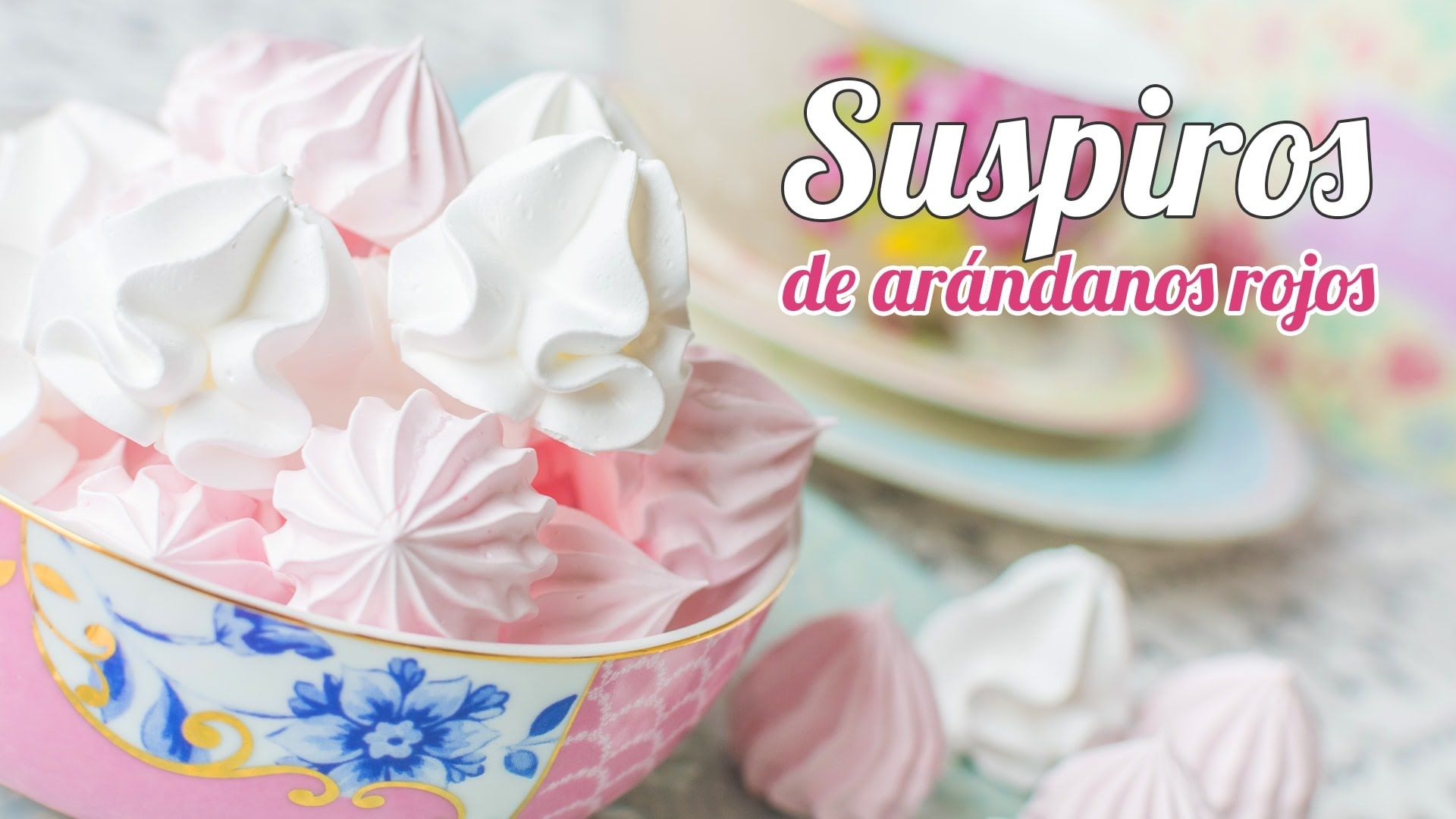 Suspiros o Galletitas de merengue suizo
