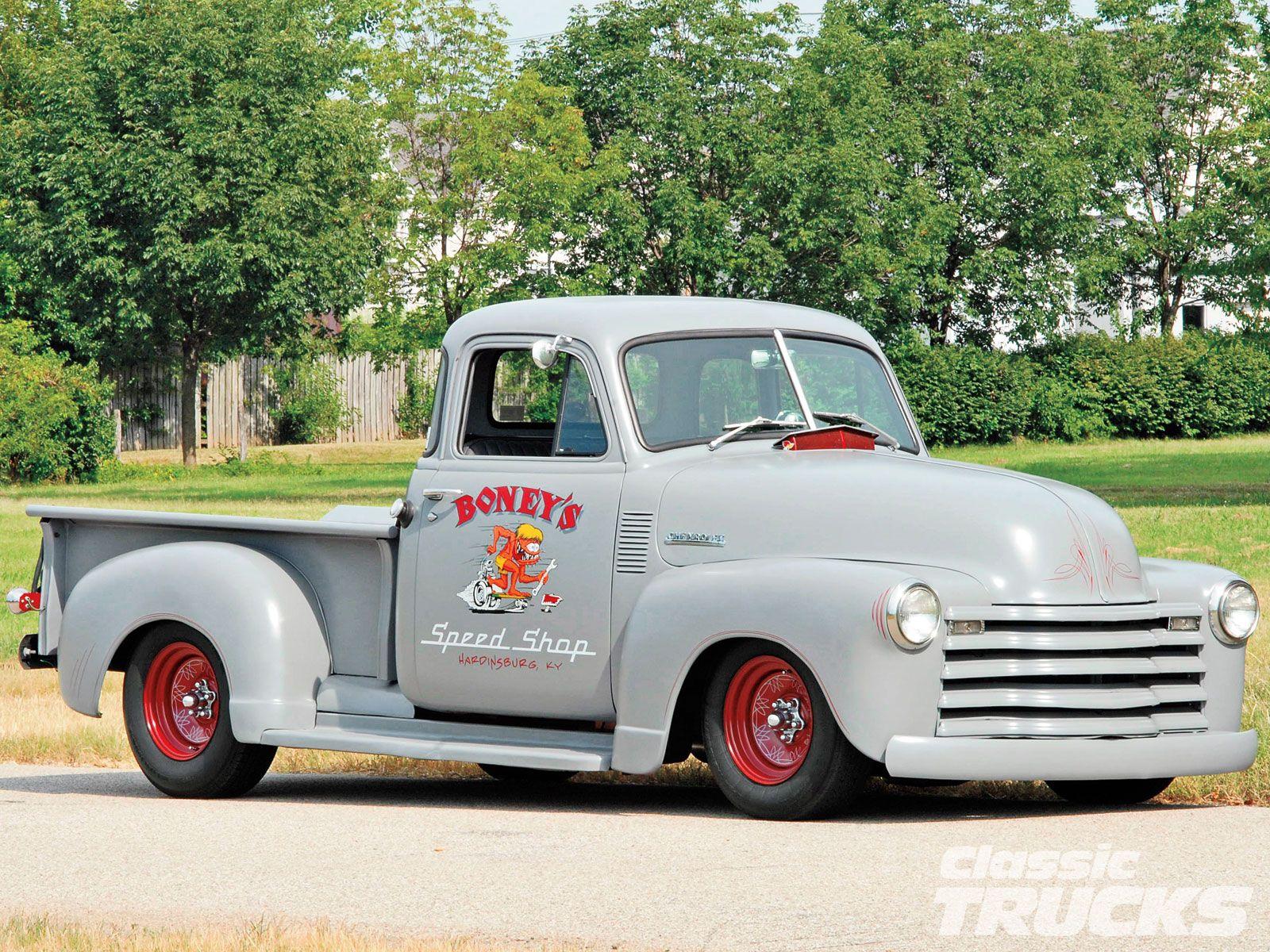 Vintage Chevrolet trucks | Pickups Panels & Vans (Modified ...