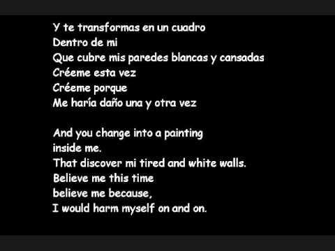 Viveme Laura Pausini English And Spanish Lyrics Lyrics Youtube Spanish Spanish English