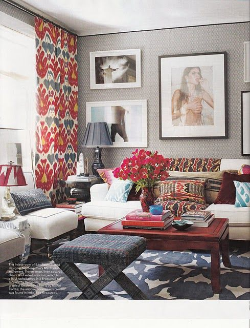 Matters Of Style Home Living Room Eclectic Living Room Interior