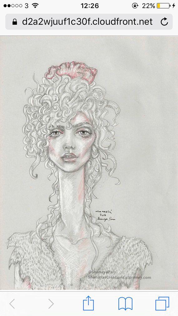 Cameela by ShanayasCreations on Etsy