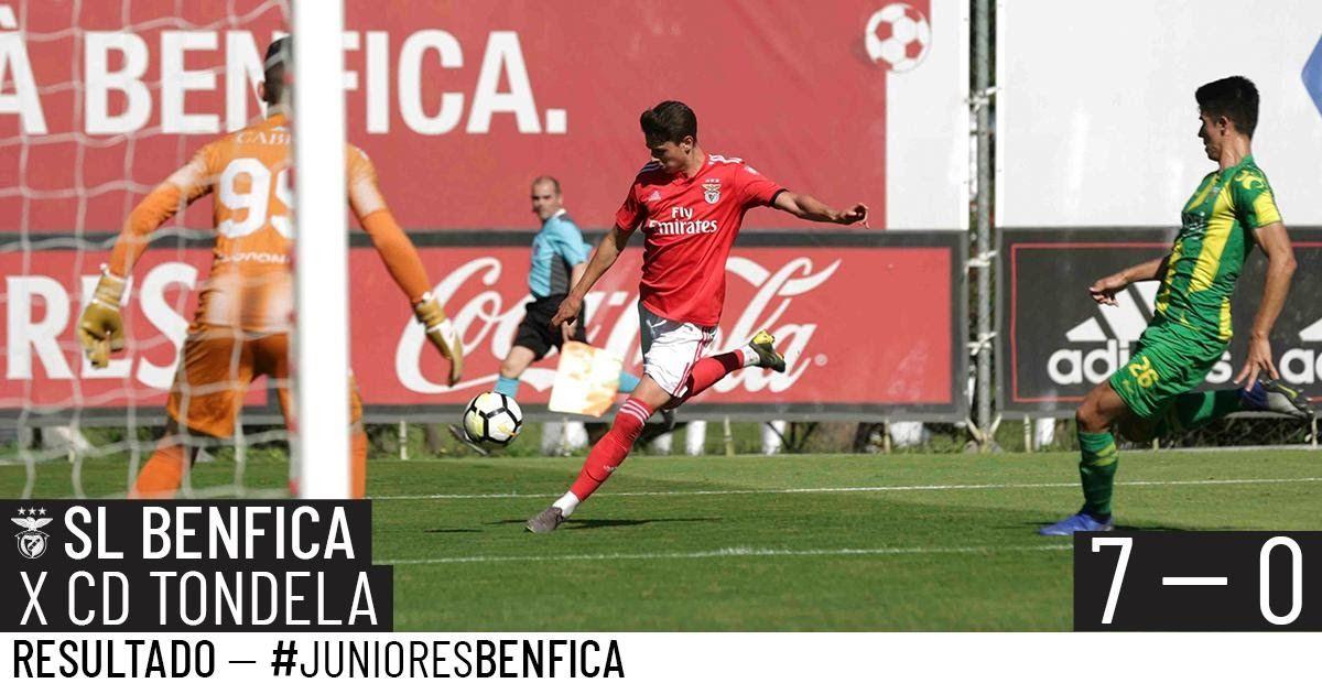 O Benfica Goleou Hoje O Tondela 7 0 Foi O Resultado Final Do Jogo A Contar Para O Campeonato Nacional De Juniores Os Campeonato Nacional Benfica Campeao Golo