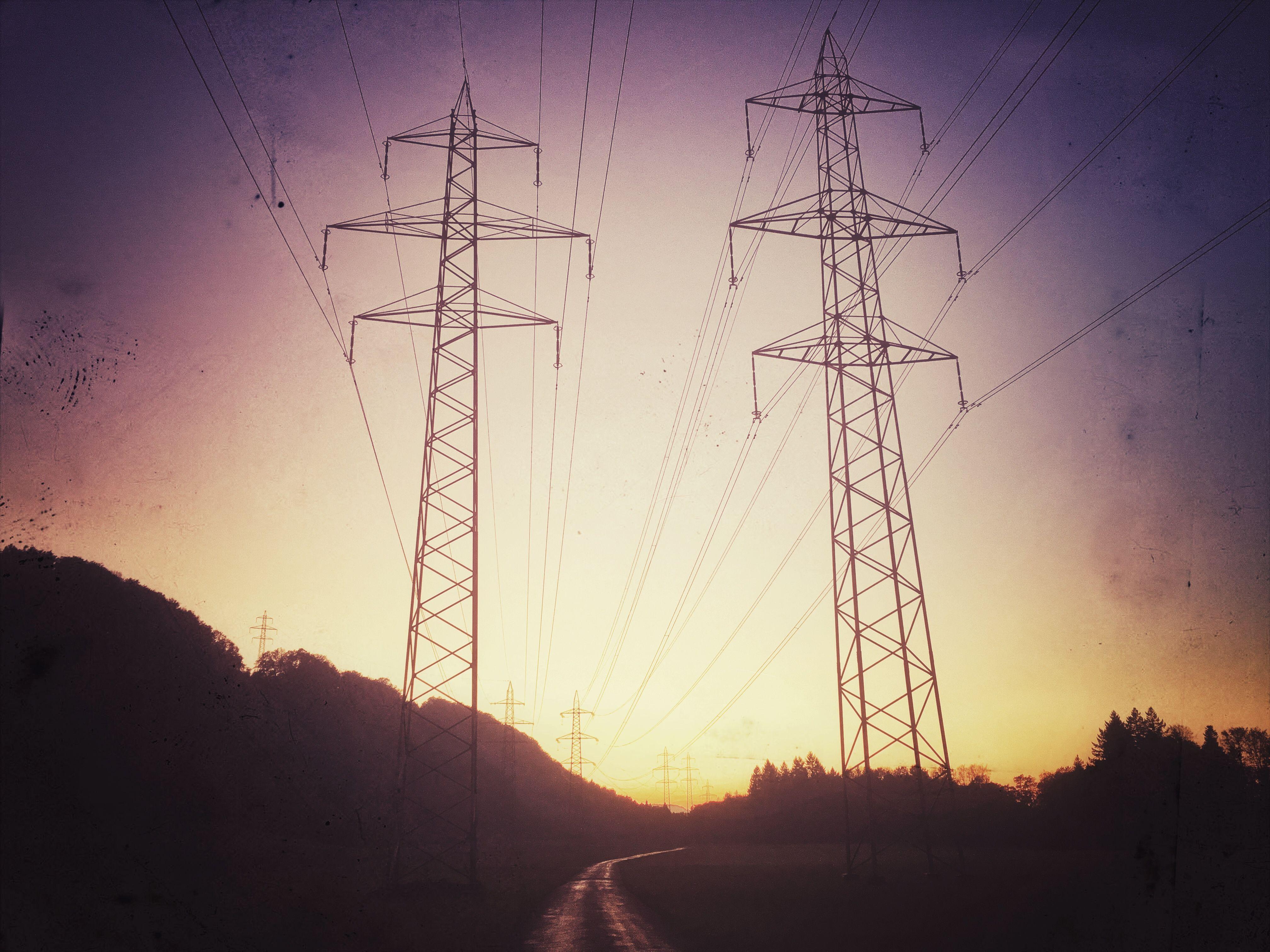 Stromleitungen Kaisten