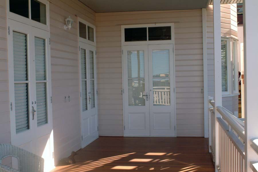 French doors to verandah wood section at bottom of door. We want screen doors & French doors to verandah wood section at bottom of door. We want ... pezcame.com
