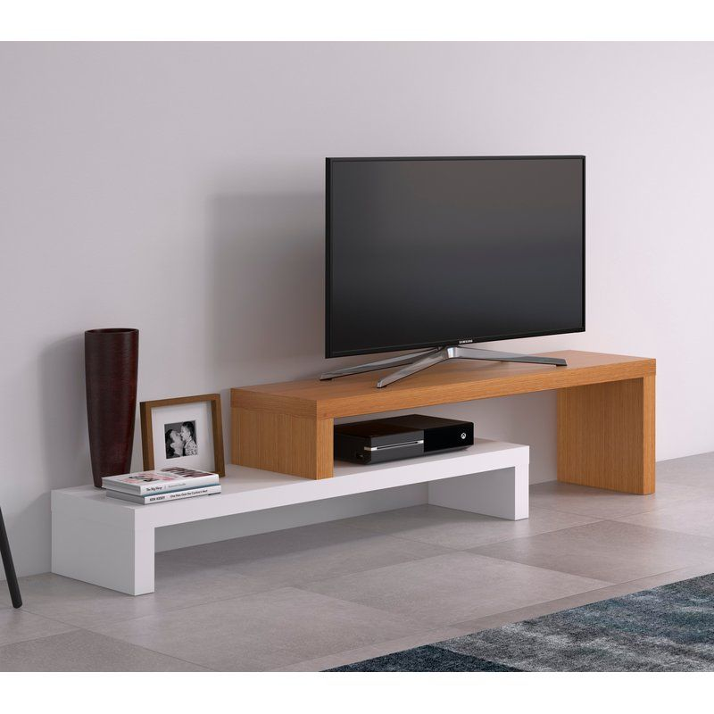 Cliff Tv Stand For Tvs Up To 55 Muebles Para Tv Minimalistas