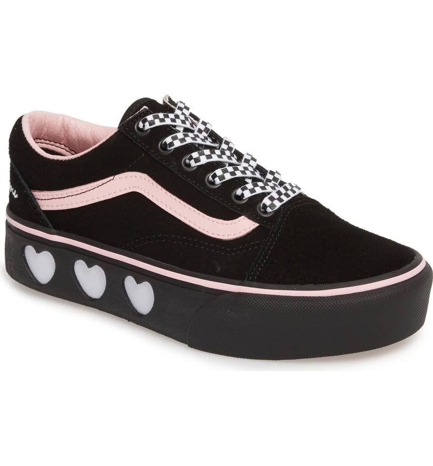 Vans Old Skool Platform Sneaker Women Womens Sneakers Sneakers Platform Sneakers