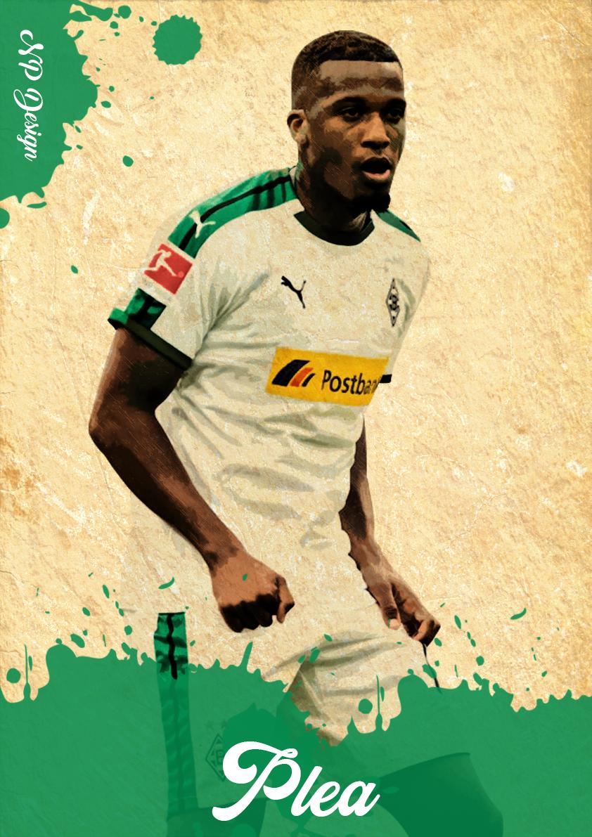 Alassane Plea Borussia Monchengladbach Vfl Borussia Monchengladbach Vfl Borussia Borussia Monchengladbach