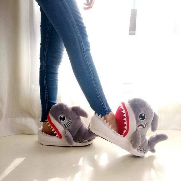 Shark Slippers #inspireuplift explore Pinterest