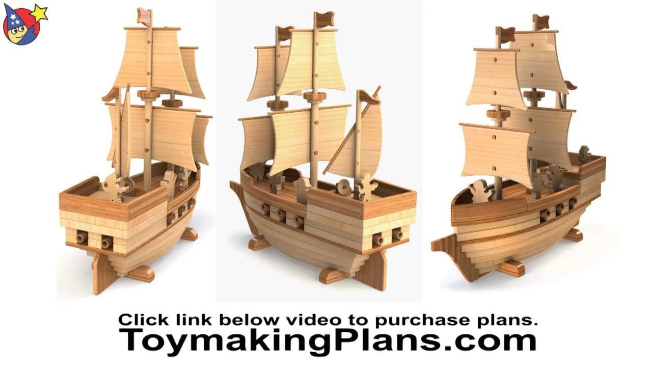 wood toy plan - pirate ship madagascar | boats,ships-crafts