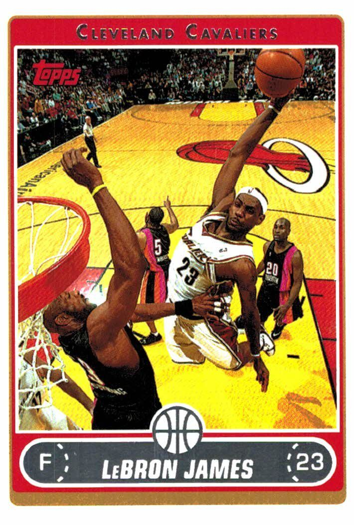 Buy 200607 Topps LeBron James Cleveland Cavaliers at JM