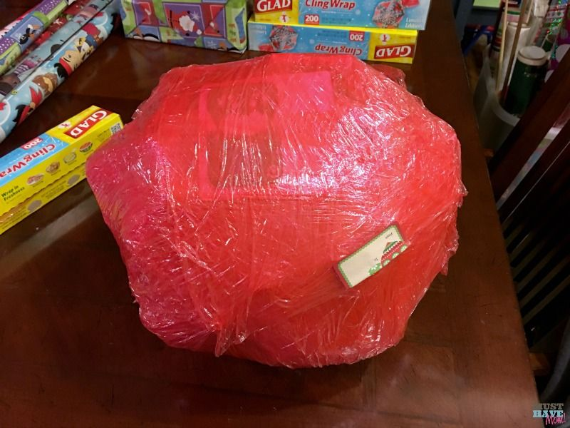 Saran Wrap Ball Game! Fun Party Game Idea For Kids Or Adults Game