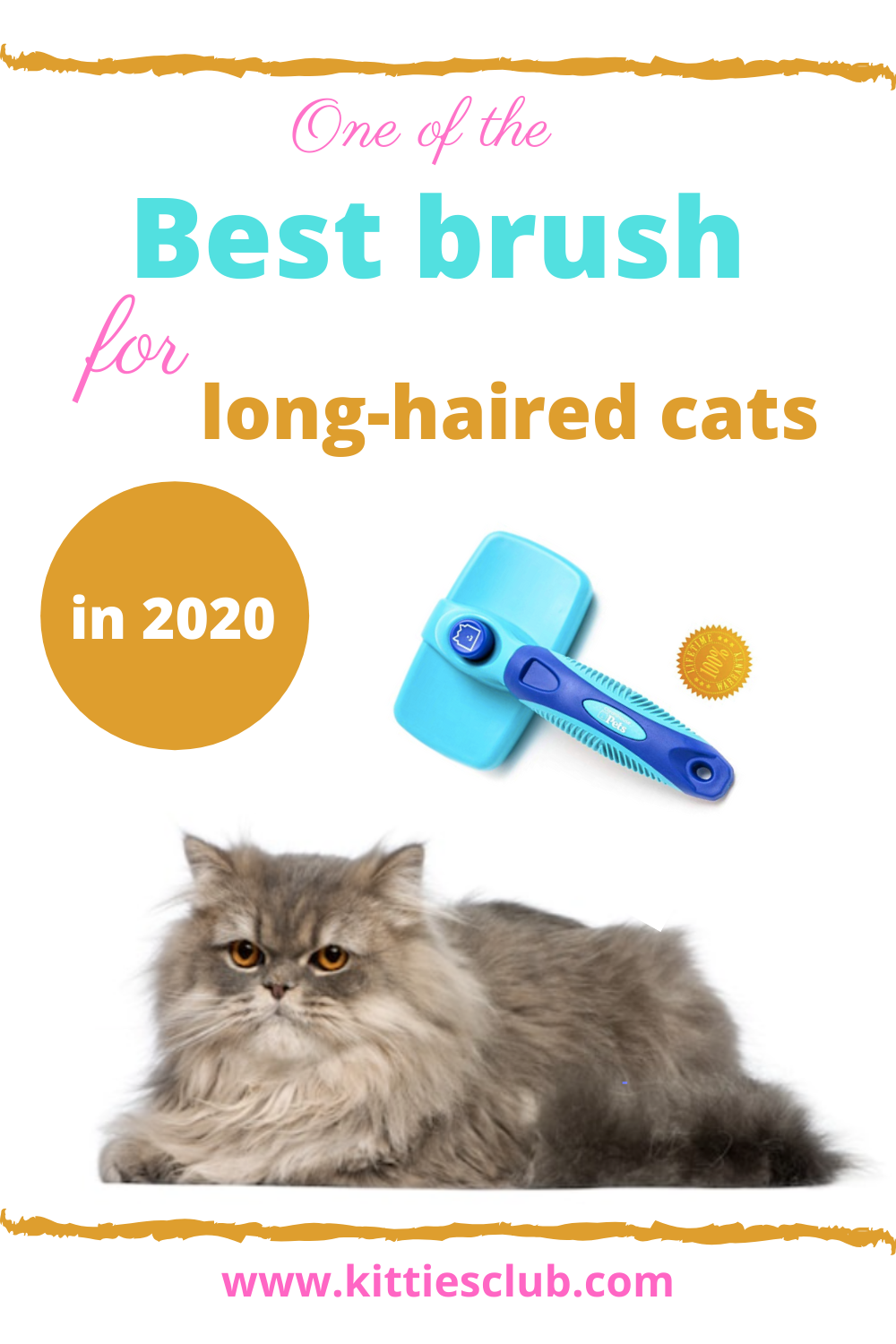 What Is The Best Brush For Long Haired Cats In 2020 In 2020 Long Haired Cats Cat Grooming Styles Cat Grooming