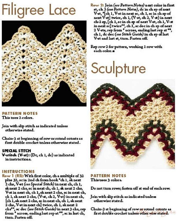 Filigree Lace Crochet Pattern | Crochet/Knit - Adult Afghans | Pinterest