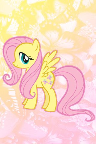 Fluttershy Iphone Wallpaper By Serendipity37 My Little Pony