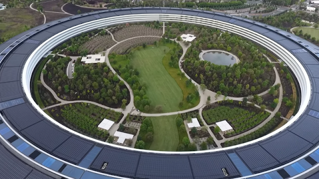Latest Apple Park Drone Footage Showcases The Campus In Its