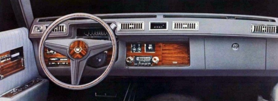James Wood Chevrolet >> The 1976 Cadillac Seville instrument panel was beautiful ...