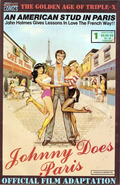 Cover for Johnny Does Paris (Re-Visionary Press, 1997 series) #1