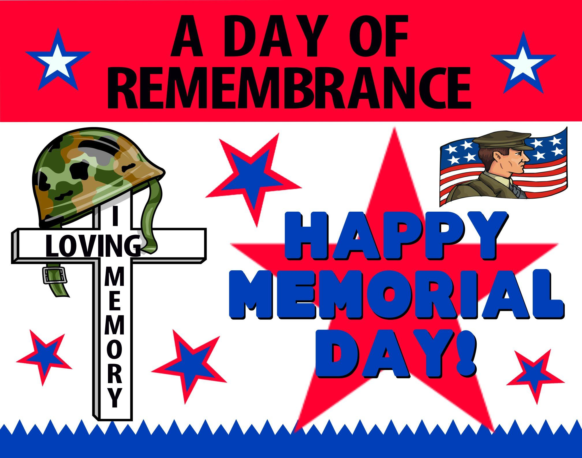 make a poster about memorial day holiday poster ideas artskills