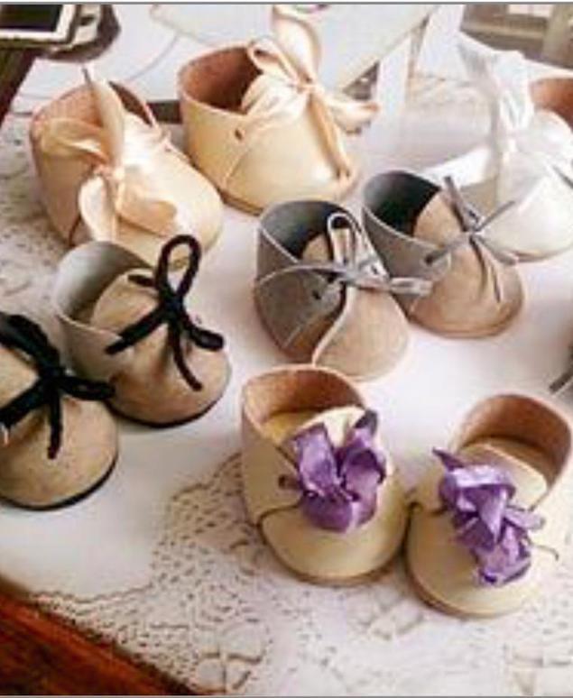 840fa77c9 Делаем миниатюрные ботиночки для кукол - Ярмарка Мастеров - ручная работа,  handmade
