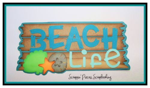 Beach-Title-Paper-Piecing-for-Scrapbooking-Pages-Embellishments-PY-LOT