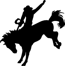 Image Result For Bucking Horse Silhouette Clip Art Horse Silhouette Silhouette Art Bronc Riding