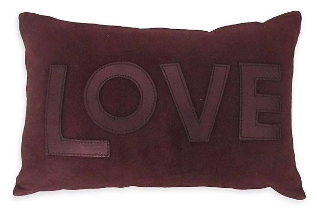 Maison de Vacances Love Pillow on OneKingsLane.com