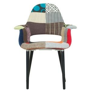 Fauteuil eleven thirteen zuiver 234 42 island for Fauteuil eames patchwork