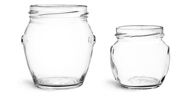 These Clear Glass Honey Pot Jars Are A Charming Way To Package A