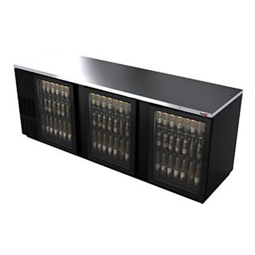 Bar Cooler Black With Glass Future Ideas Beverage Refrigerator Wire Shelving Back Bar