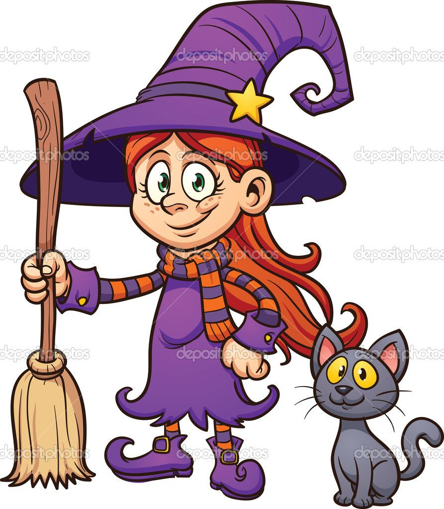 witches - Halloween Witch Cartoon
