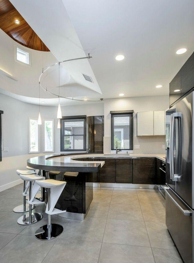 Idées de cuisine moderne: style élégance pour votre maison ...