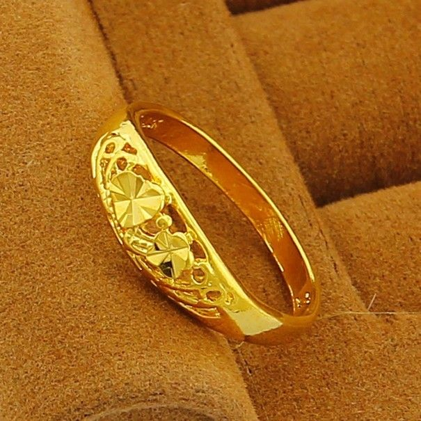 classic 24k Gold Plated HoSwallow Rings For Women