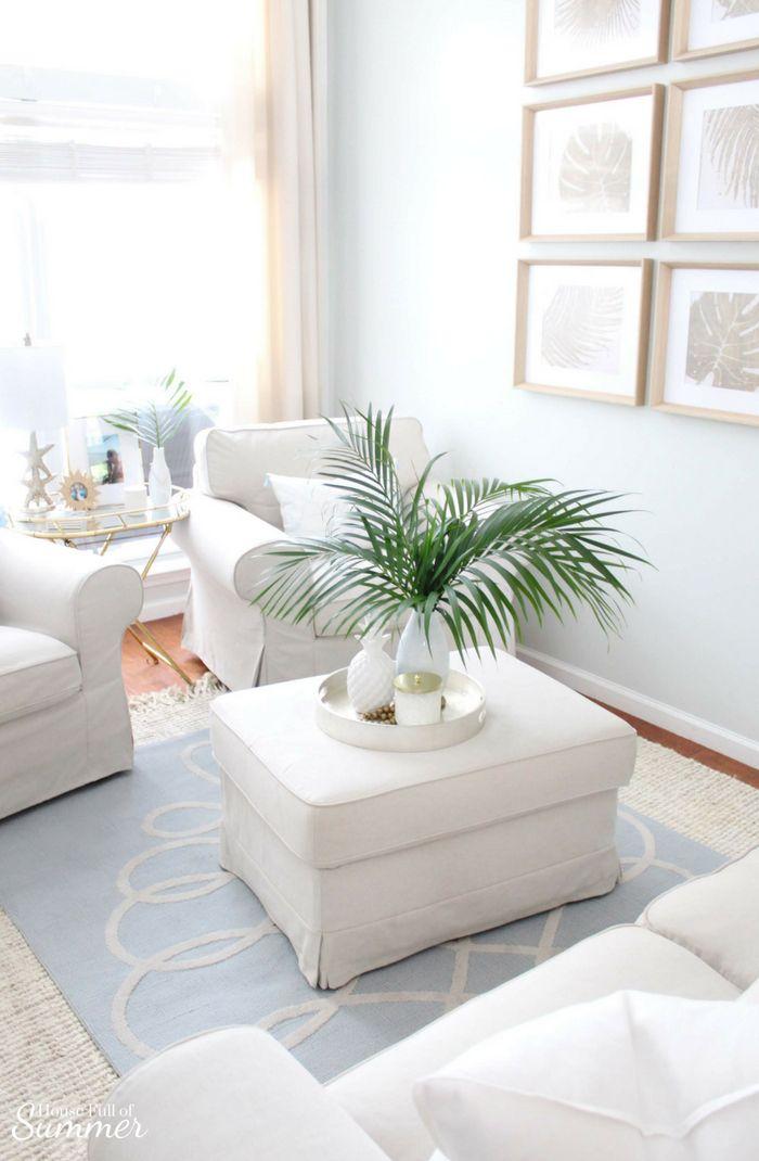 Serene Coastal Chic Living Room Decor Interior De La Casa Decoracion De Unas Decoracion De La Habitacion