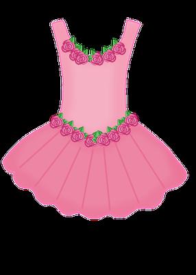 PINK DRESS CLIP ART | CLIP ART - CLOTHES - CLIPART ...