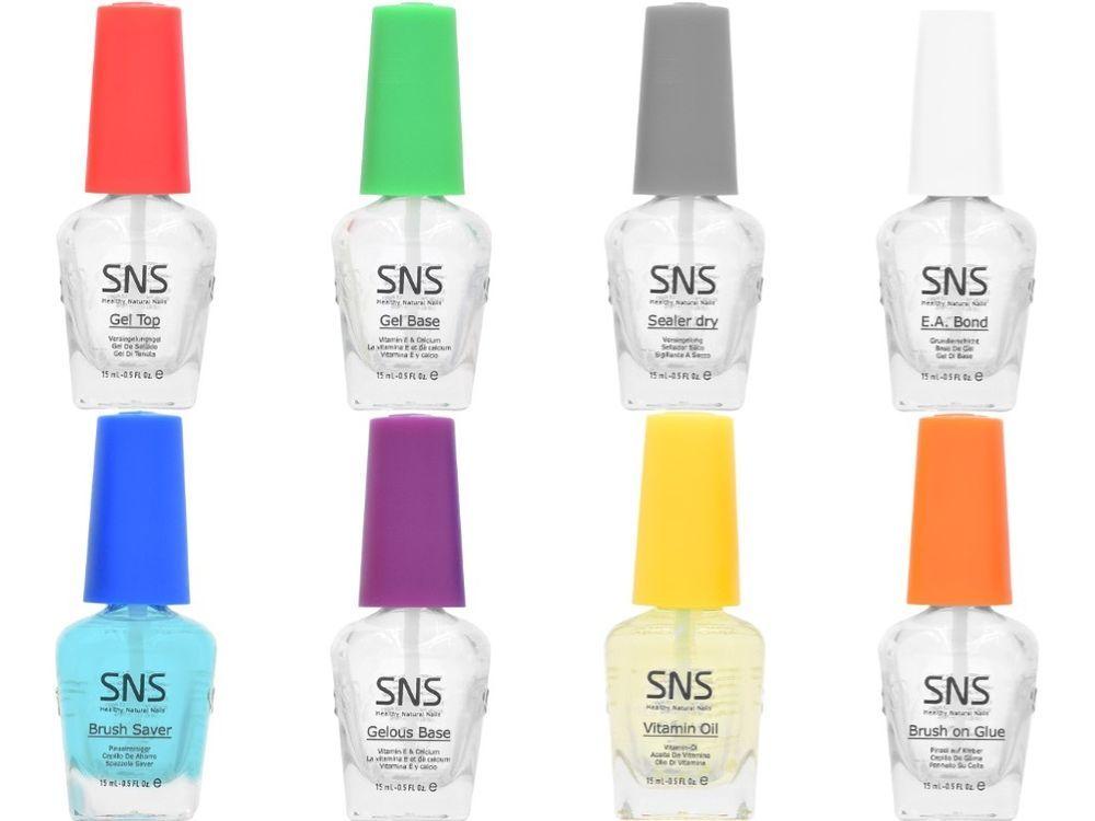 SNS Nail Dipping System Gel Top/ Base/ Gelous Base/ Sealer