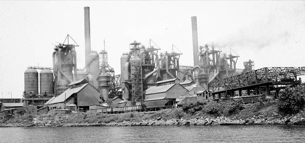 Us Steel Chicago Us Steel Chicago History Chicago Old Pictures