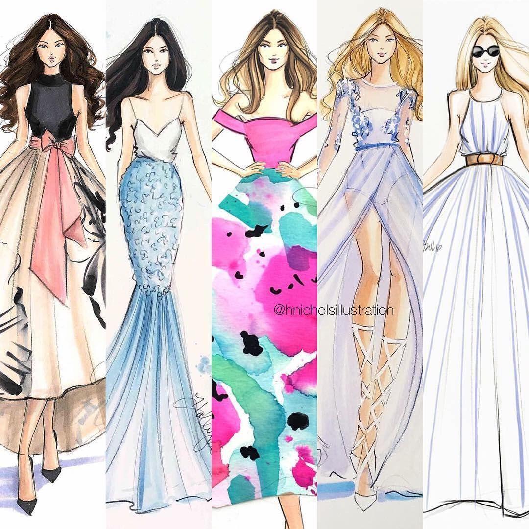 Instagram Photo By Holly Nichols Jun 25 2016 At 2 59pm Utc Fashion Fashion Illustration Fashion Design Sketches