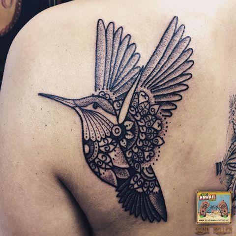 Hummingbird Tattoo Tattoos Hummingbird Blackwork