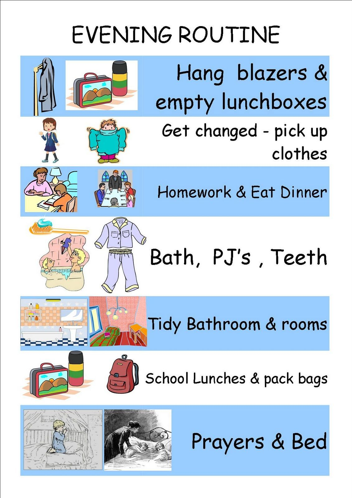 No excuses! Easy organising for large families Where do I