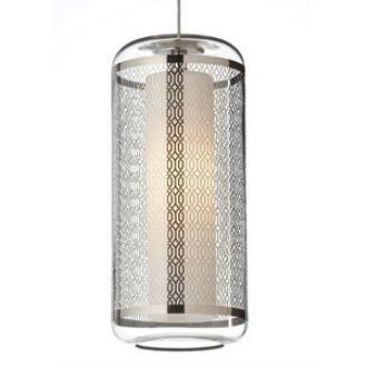 Tech Lighting 700MPECNCGL Ecran - One Light MonoPoint Low Voltage Pendant