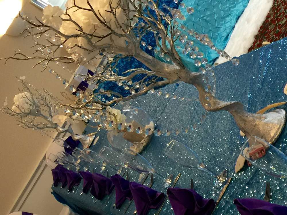 Winter and Under The Sea Quinceañera Party Ideas | Photo 1 of 19 | Catch My Party