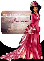 Vintage Princess -Jasmine by selinmarsou