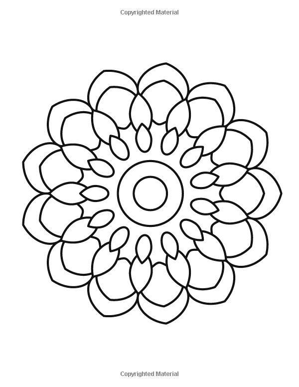 Amazon Com Mandala Coloring Book For Kids And Beginners Easy And Simple Mandalas Designs Perfect Gift Mandala Coloring Books Mandala Coloring Coloring Books