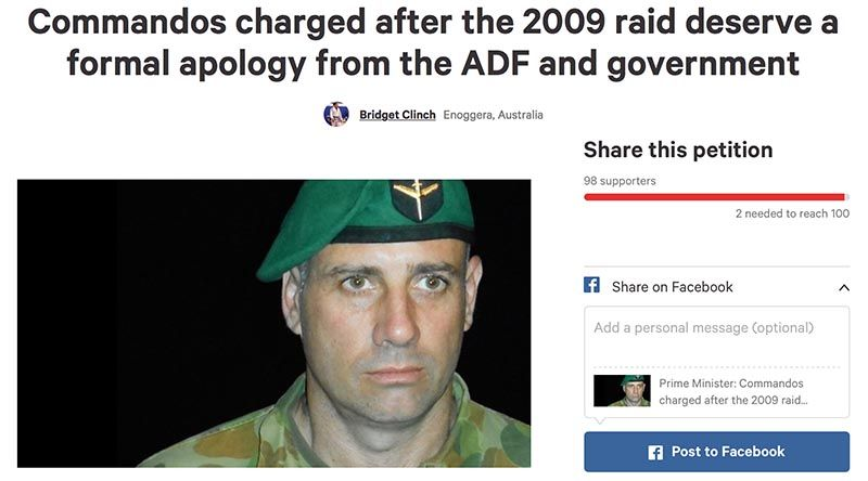 Veterans Party Petition Seeks Apology For Commandos News