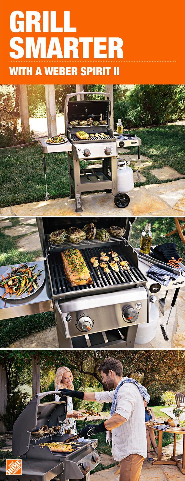 Pin By The Home Depot On Grills Outdoor Cooking Backyard Grilling Backyard Barbeque Backyard Bbq