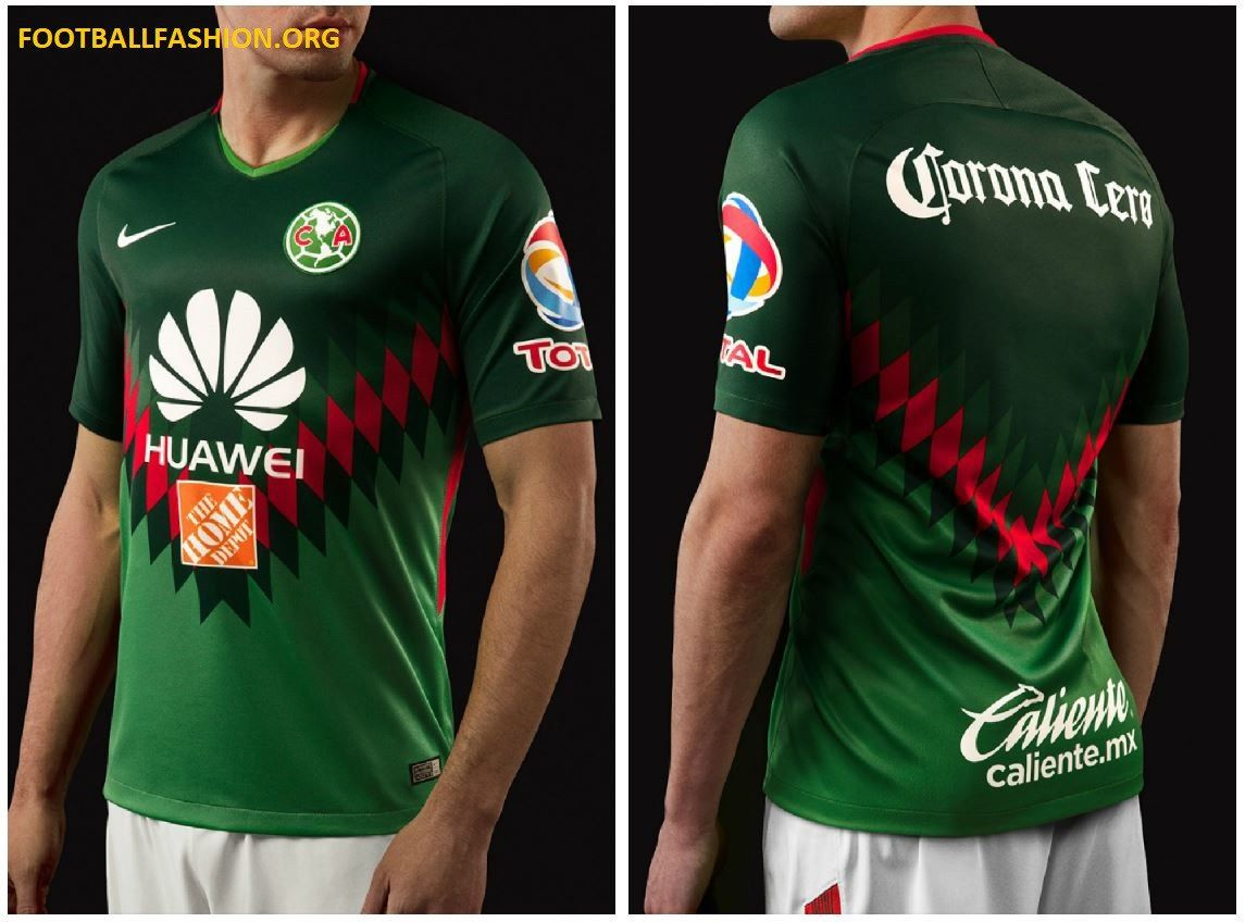 the latest bfeee e4784 Club América 2018 Mexico-Inspired Nike Jersey | Soccer ...